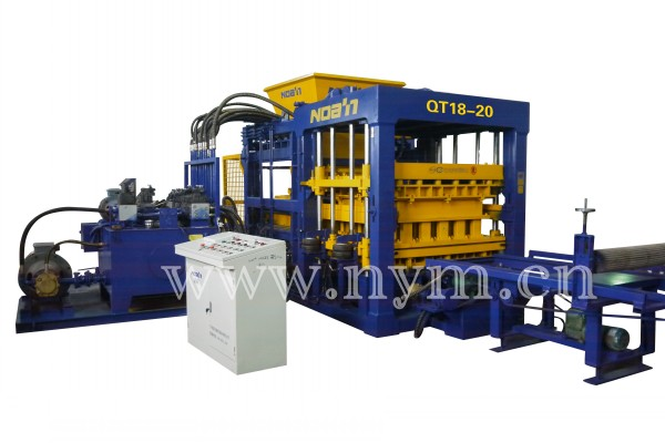 QT18-20 BLOCK MAKING MACHINE